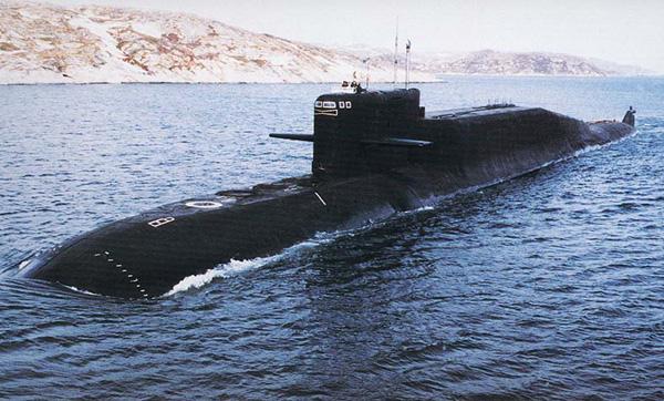 Ракетный подводныйкрейсер
